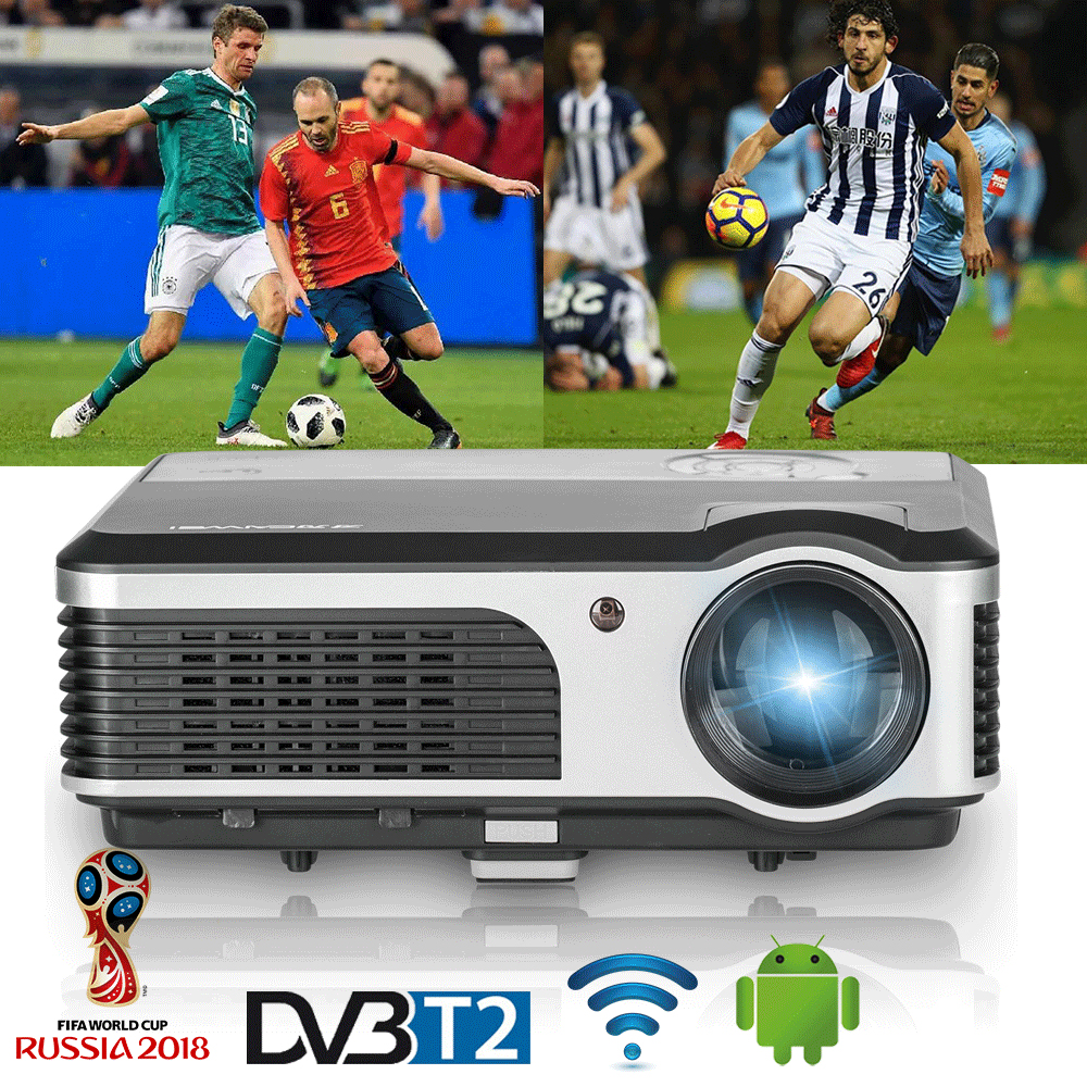 Caiwei Home Use Dvb T2 Projector Led Lcd Digital Tv: Aliexpress.com : Buy CAIWEI LCD LED Home Projector 3800