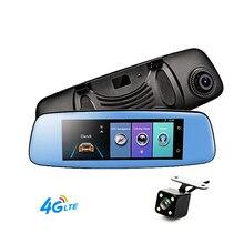 7 84 4G Car DVR Mirror Rearview Mirror Car Camera GPS Navigatior Remote Monitor Smart Android