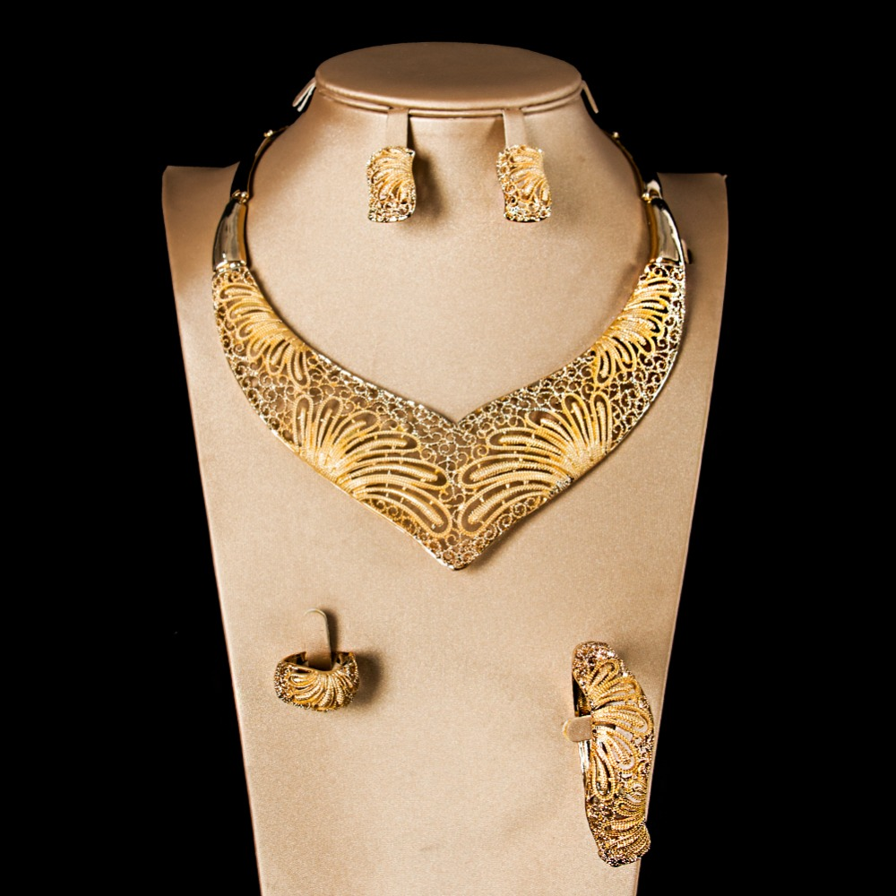 LAN PALACE fashion jewelry sets womens accessories costume jewelry set earrings necklace ...