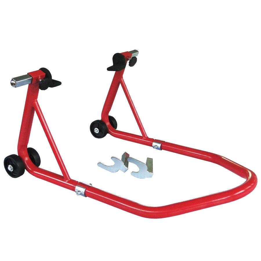 Wheel Lift Swing : Motorcycle stand swingarm paddock spool front wheel lift
