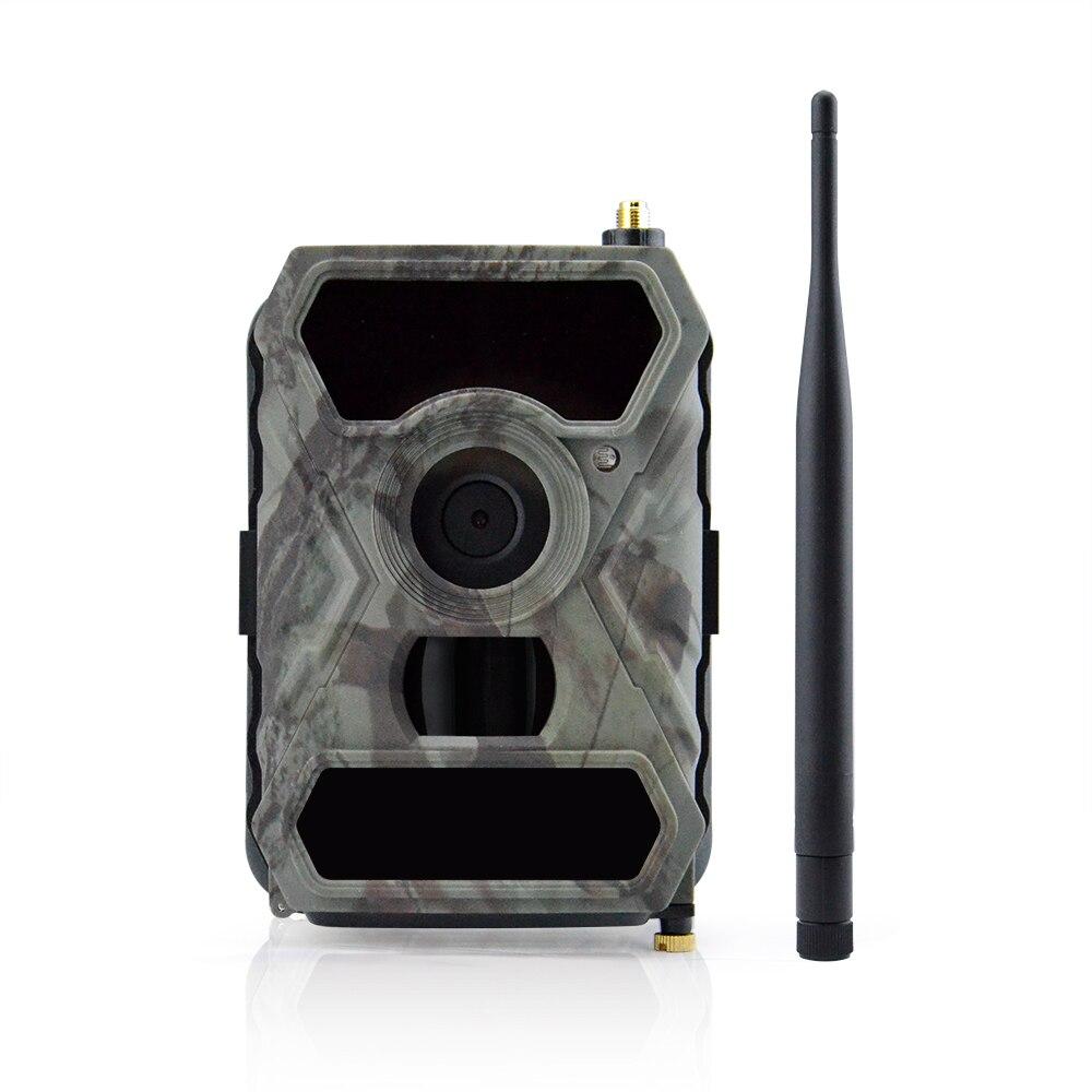 3G Trail cámara móvil con 12MP HD imagen cuadros y 1080 p imagen grabación de vídeo con APP remoto control IP54 impermeable