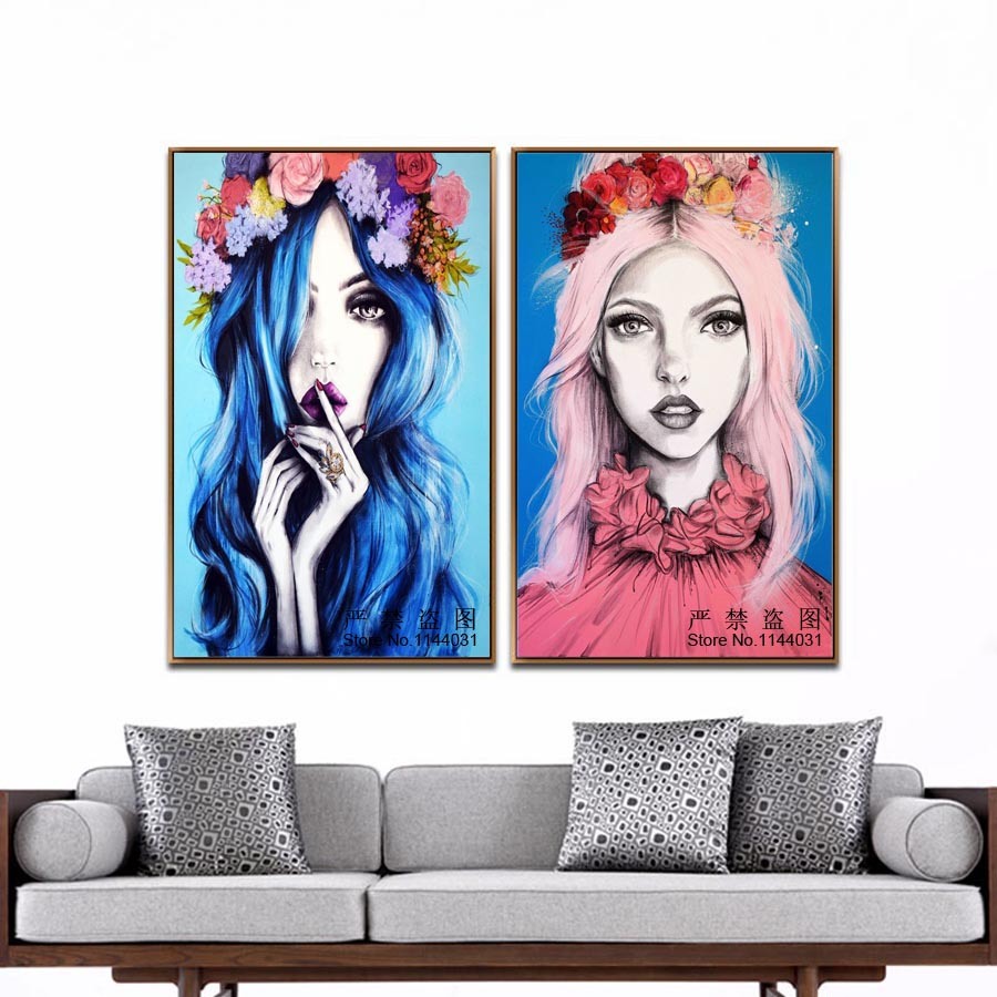 Butterfly Girl 5D Diy Diamond Painting Illustration Embroidery Kits Crystal Rhinestone Picture Full Diamond Mosaic Rose Girl