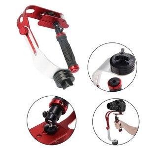 Image 3 - Handheld Video Stabilizer Camera Steadicam Stabilizer for Digital Camera HDSLR DSLR Camcorder DV Mobile Phone + Gloves
