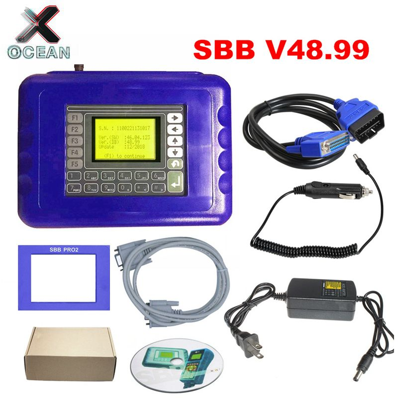 New Arrived SBB V48.99 V48.88 V46.02 SBB Pro2 Key Programmer Support Cars To 2018 Replace V33.02 SBB Key Program