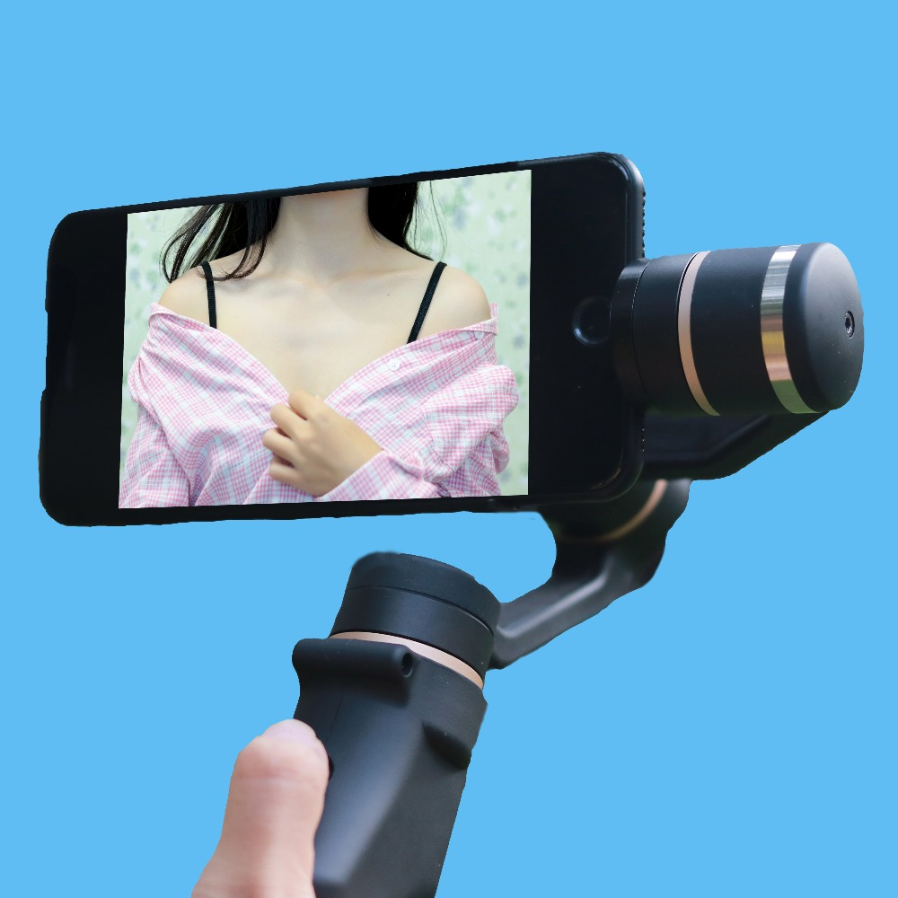SUNFLY 3-Axis Handheld Smartphone Gimbal Stabilizer Model for iPhone 7 Plus Samsung S7 S6 VS Zhiyun Smooth Q feiyu FY TECH
