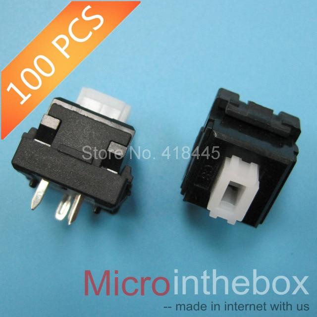 100PCS/LOT Keyboard switch , key switch, reset switch, tripod 3Pin, 2Pin