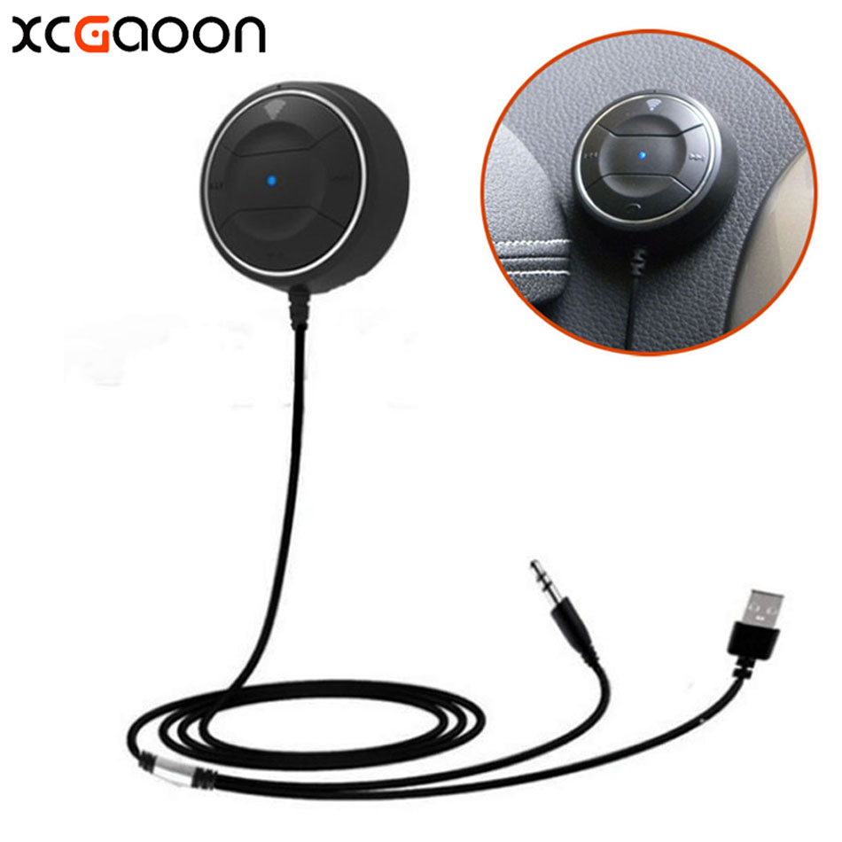 XCGaoon NFC Bluetooth 4.0 Handsfree Car Kit Speakerphone for iPhone For Samsung fit Lots of Mobile cell phone, Can Pair by NFC