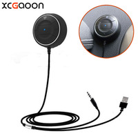 XCGaoon NFC Bluetooth 4.0 Manos Libres para el Automóvil Con Altavoz para iPhone Para Samsung adaptarse a Un Montón de teléfono celular Móvil puede Emparejar con NFC