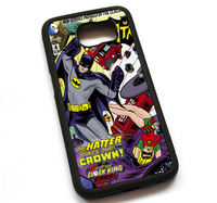 Old Batman Comic Book Case Cover Case For Samsung Galaxy Note 2 3 4 5