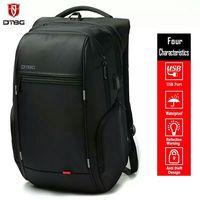 DTBG 1517 Laptop Backpack External USB Charging Anti theft Notebook Waterproof Backpack Leisure Travel for Men Women Mochilas
