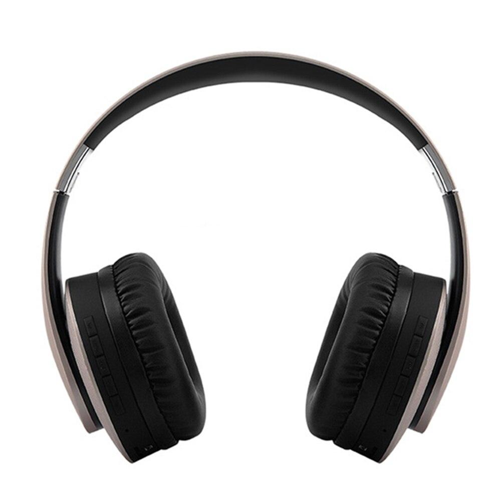 Casque sans fil KD-B04 Bluetooth 4.0 casque stéréo bandeau sur l'oreille avec Microphone Support TF carte FM Radio lecteur MP3