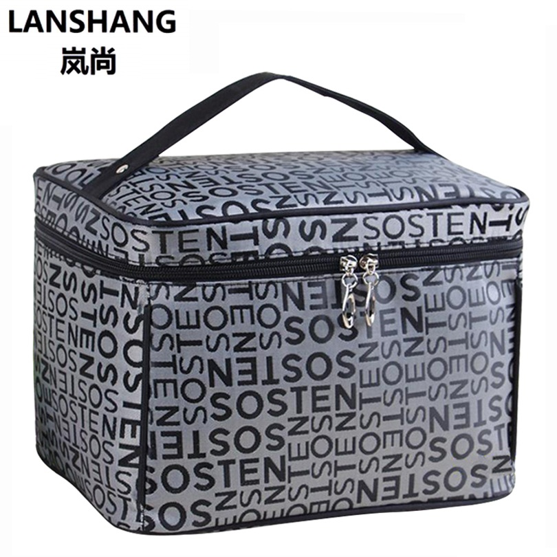 2017 Extra Large Capacity Cosmetic Bag High Quality Women