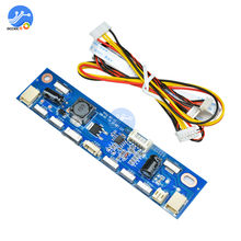 1 conjunto inversor para luz de fundo led constante atual driver board multifunction 12 conectores led strip tester(China)
