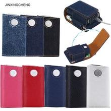 JINXINGCHENG 2PCS LOT Flip Leather Pouch for GLO Case Cover  Bag Glo Accessories 8 Colors
