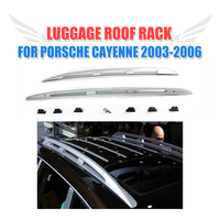 Car Top Luggage Carrier Rail Bar Roof Rack Fit For Porsche Cayenne 2003 2010