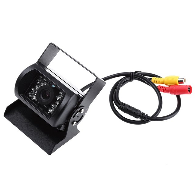 7 polegada TFT LCD Rear View Monitor Sem Fio IR Night Vision Backup Camera Kit Câmera Concha De Metal À Prova D' Água de Alta Dever