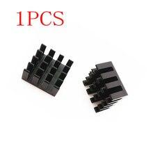 1pcs Kit for Raspberry PI 1 2 3 Adhesive aluminum heat sink calor heatsink for arduino 14*14*7mm
