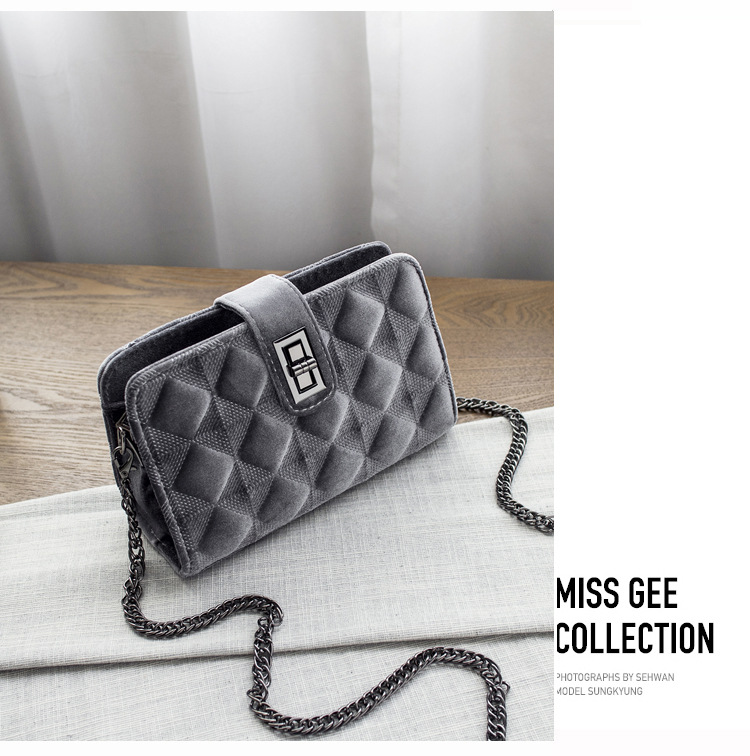 Handbags Women Bags Designer Shoulder Vintage Velvet Chain Evening Clutch Bag Messenger Crossbody Bags For Women 2018 2018 luxury handbags women bags designer brand chain evening clutch bag female messenger crossbody shoulder tote bags women