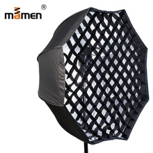 цена на Mamen 80cm  Portable Outdoor Softbox  Photo Studio Kit Raster Camera Photography Umbrella Flash Speedlite Soft Box