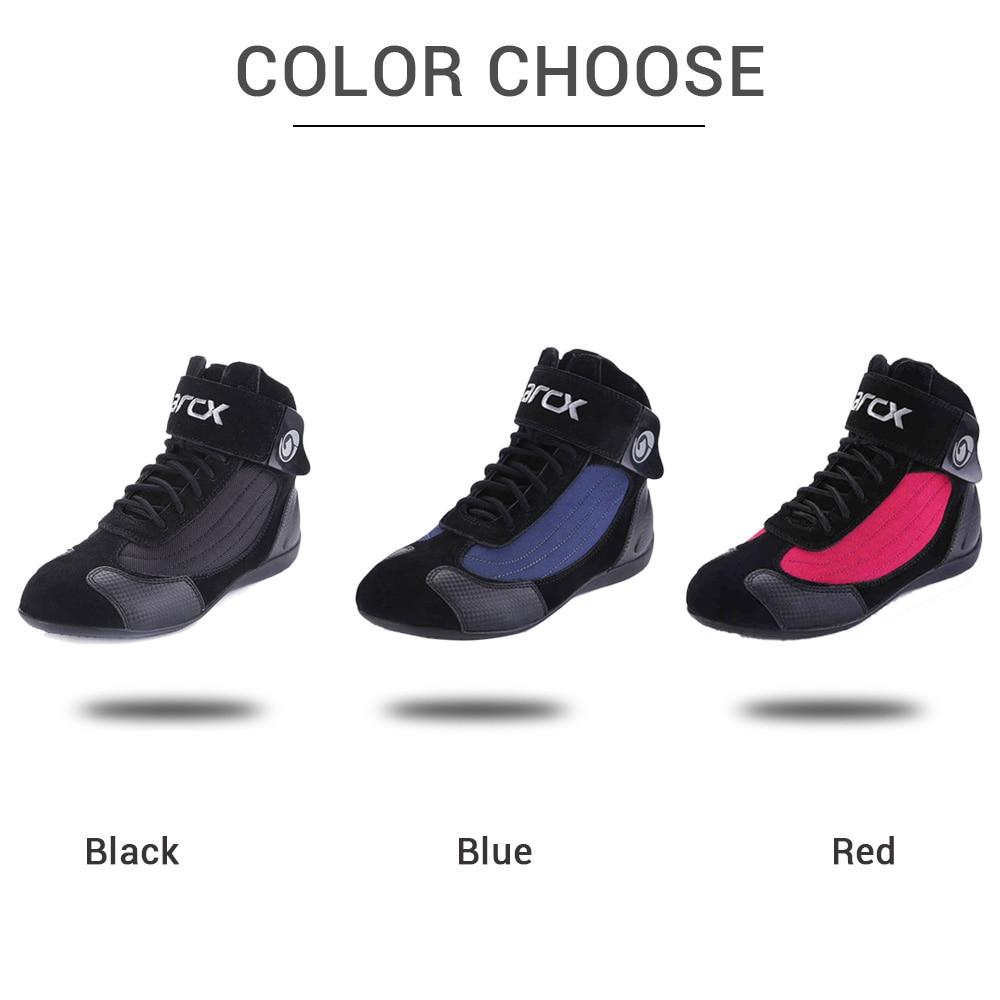 Botas de Moto ARCX para hombre, botas de Moto, zapatos de Moto transpirables de verano - 4