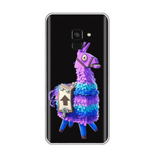 Hot Game Battle Royale Bush pink teddy bear Phone Case For SamSung S6 S7 edge S5 S8 S9 J7 A5 2017 A6 2018 Silicone Soft TPU Case