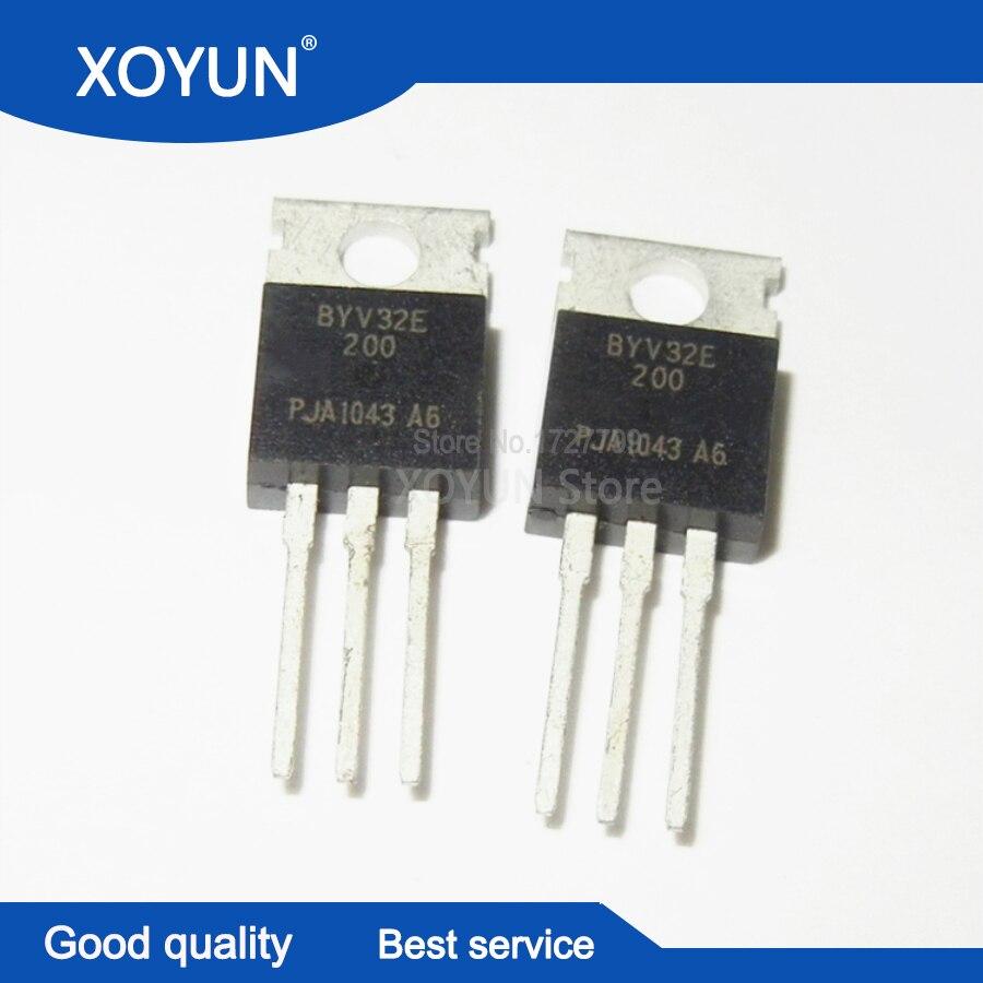 10pcs/lot BYV32E-200 BYV32E 200 TO-220 100%new
