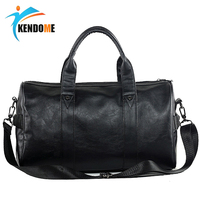 Top PU Leather Men's Outdoor Sports Training Bags Gym Bags Classic Sports Travel handBags Fitness Workout Shoulder Bags