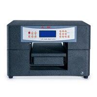Новый A4 Размер УФ печатная машина с низкой стоимостью планшетный принтер mini6