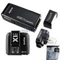 GODOX AD200 TTL 2 4g HSS 1/8000 s Tasche Flash Licht Doppel Kopf 200Ws mit 2900 mah Lithium- batterie Flash + X1T-C Trigger Für Canon