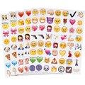 Nueva Lindo 48 Troquelado Emoji Sonríen Pegatina Para El Ordenador Portátil Para Notebook Mensaje de Alta Vinilo Divertido Creativo