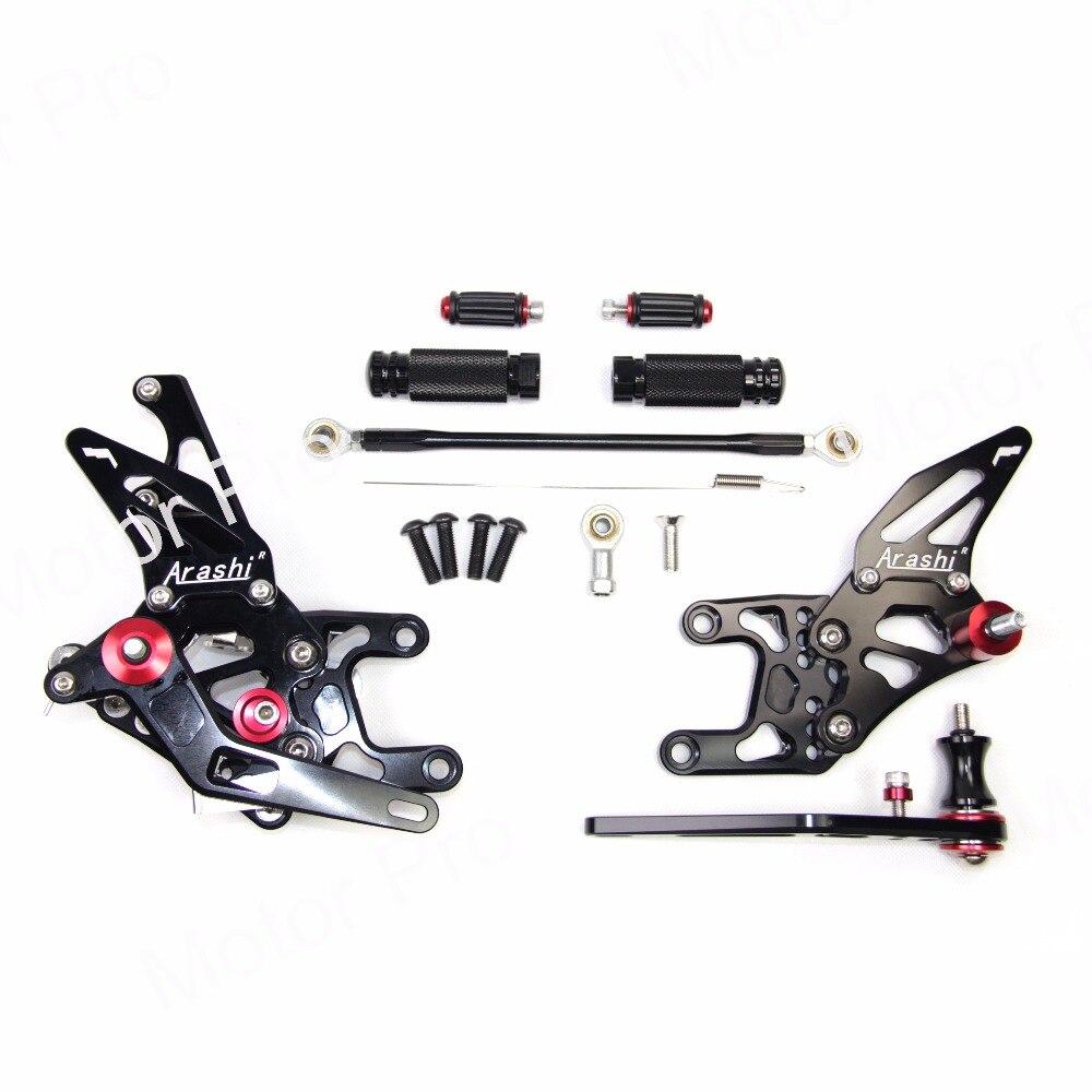 Adjustable Footrests For Honda CBR1000RR 2008 2011 Foot Rest Peg Rearsets Pedal CBR 1000 RR CBR1000