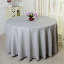 multi colors Polyester  Round Rectangular 100% Polyester Table Cover Wedding Tablecloth Party Table Cover Dining Table Linen solid green white grey table linen cover table cloth rectangular dining wedding party round tablecloth