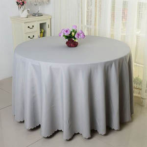 multi colors Polyester Round Rectangular 100% Polyester Table Cover Wedding Tablecloth Party Table Cover Dining Table Linen