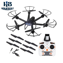 JXD X600 2.4GHz 6 Axis Headless Mode One Key Auto Return Function RC Quadcopter with FPV 0.3MP Camera Drone Helicopter