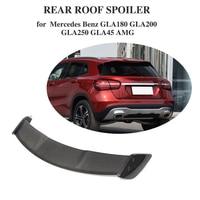 Carbon Fiber For Mercedes Benz GLA Class CLA200 CLA250 CLA45 AMG Base Sport 2013 2018 Rear Roof Lip Spoiler