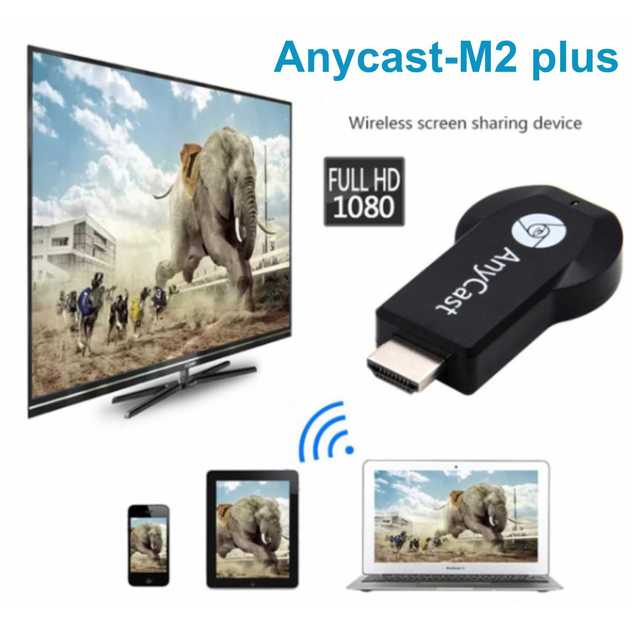 Clean nhớt AnyCast TV Thanh Không Dây WiFi Hiển Thị Dongle Receiver 1080 P HD Giao Diện TV Stick DLNA Airplay Miracast cho IOS android