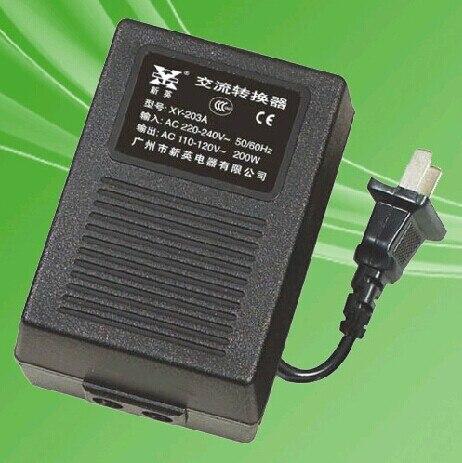 Nouveau XY-203A, 200 W 220 V à 110 V convertisseur de puissance adaptateur transformateur de tension, onduleur