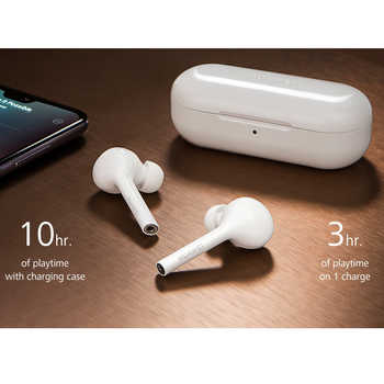 Huawei FreeBuds Lite Hi-Fi Wireless earphone 10H play time Waterproof IP54 Tap control Built-in G-Sensor
