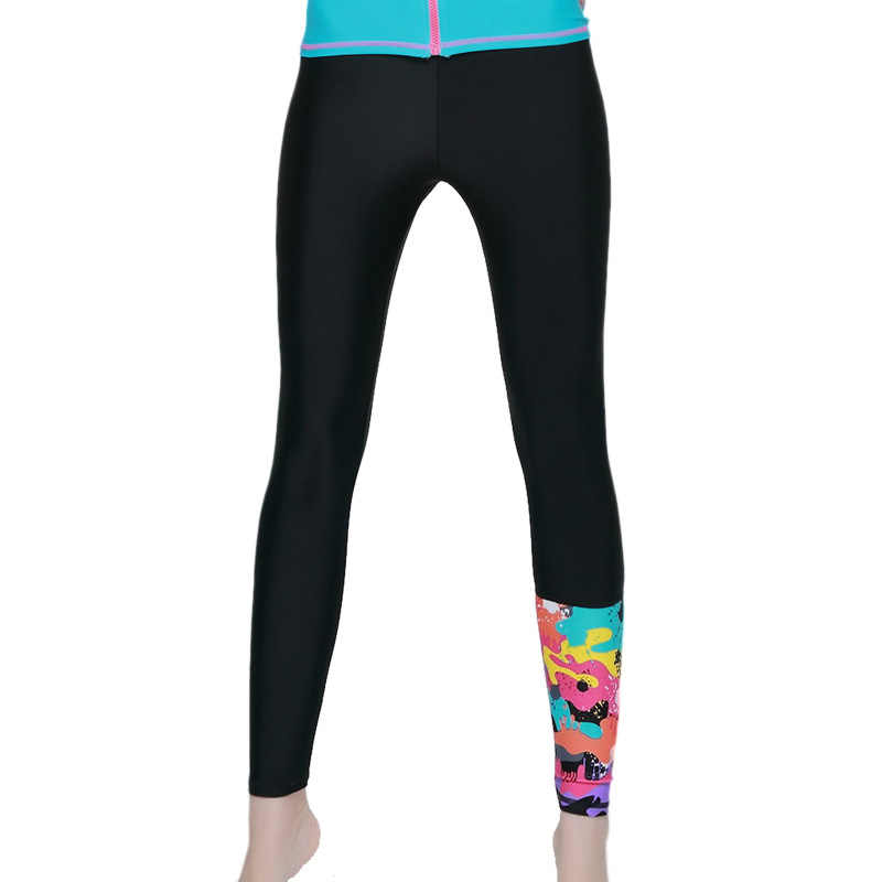 SBART Wanita Panjang Snorkeling Renang Celana Yoga Kebugaran Wanita Ruam Penjaga Baju Renang K Berlaku Celana Wetsuit Menyelam