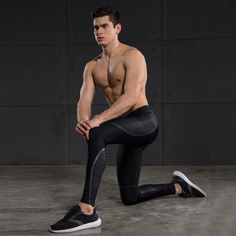 845018d94b Shorts & Trousers Mens Compression Pants Base Layer Sports Gear Tight Gym Wear  Pants Leggings S M L ...