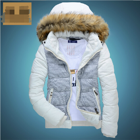 S-3XL 2015 winter Wadded jacket men Multicolor fashion outerwear thickening clothes teenage cotton-padded jacket free shipping !