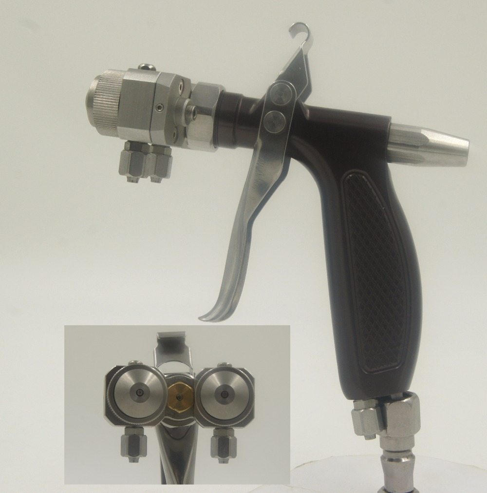 Pistola per verniciatura pneumatica ad alta pressione per pistola a spruzzo ad alta pressione per pistola a spruzzo per auto SAT1204