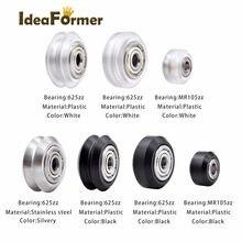 Детали для 3d принтера cnc openbuilds пластиковые колесные pom