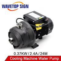 WaveTop Stainless Steel Booster Pump Power 0.37KW Lift 24m Flow 2m3/h 2.4A Explosion proof Chemical Pump 220V Centrifugal Pump