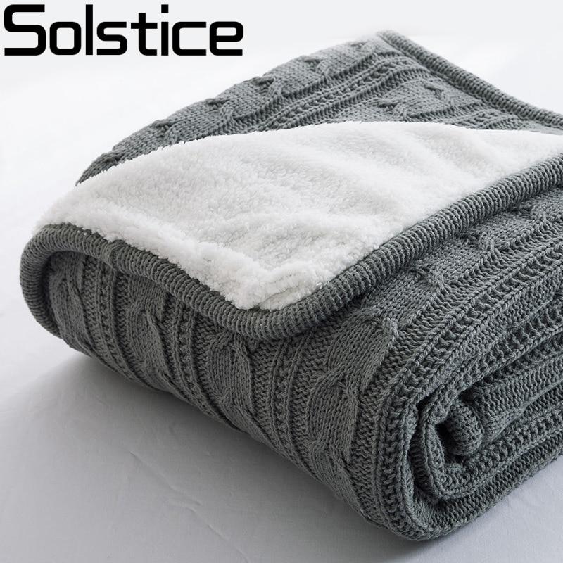 2017 Hot 100 Cotton High quality Sheep velvet Blankets