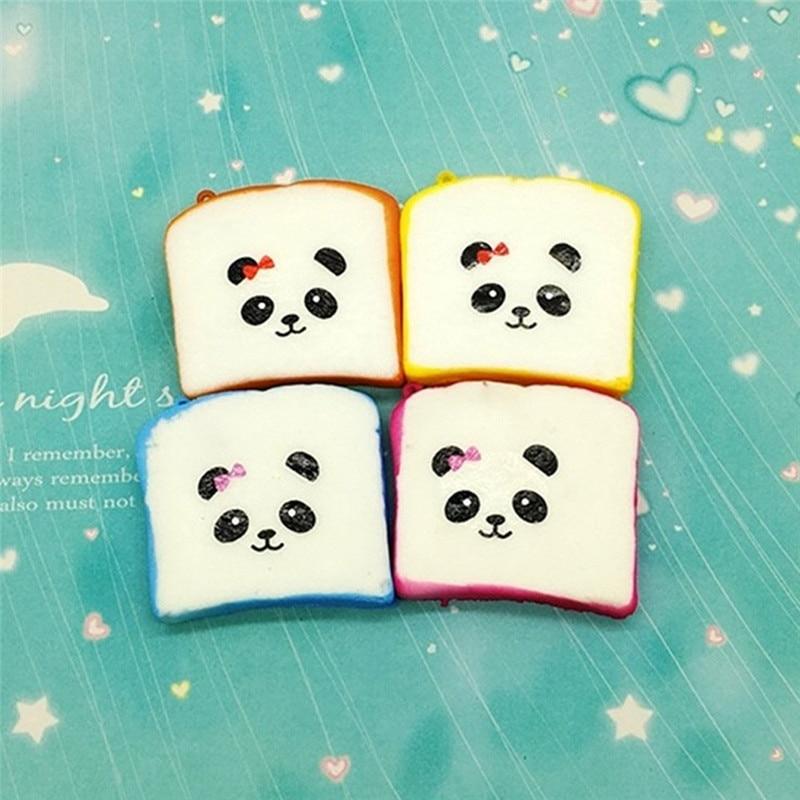 Random 1PC Steamed Bread Squishy Super Jumbo Scented Slow Rising Rare Fun Toy