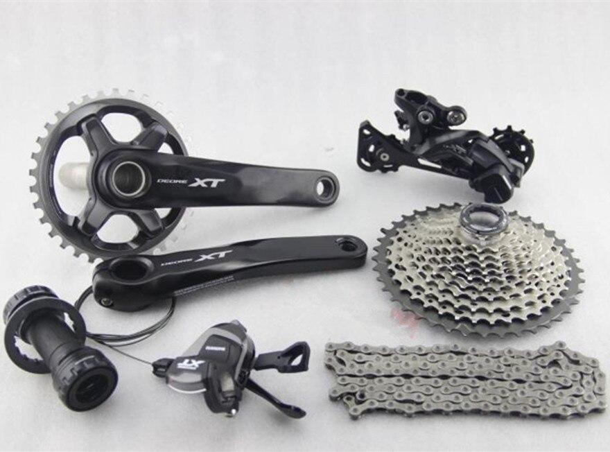 Shimano Deore XT M8000 bike bicycle mtb Group set Groupset 170 175mm crank 171x11s 11 speed