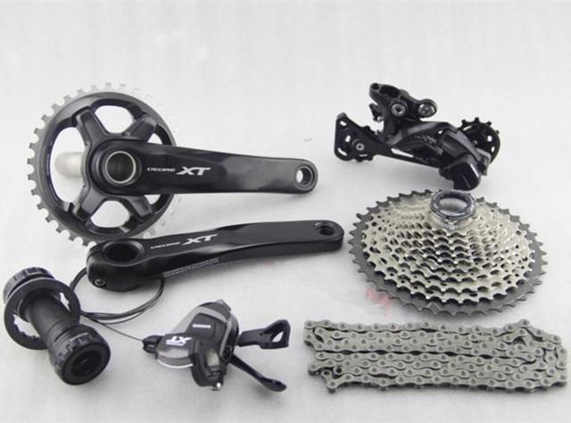 e3dabf6c69c Shimano Deore XT M8000 bike bicycle mtb Group set Groupset 170 / 175mm  crank 171x11s 11 speed m8000 Hydraulic Brake Derailleur