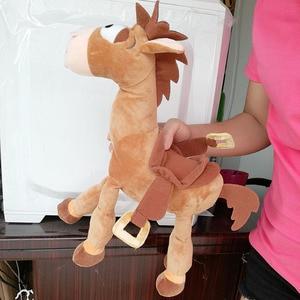 Image 2 - 35CM 55CM Bullseye Plush Toy The Horse for Children Kids Gift