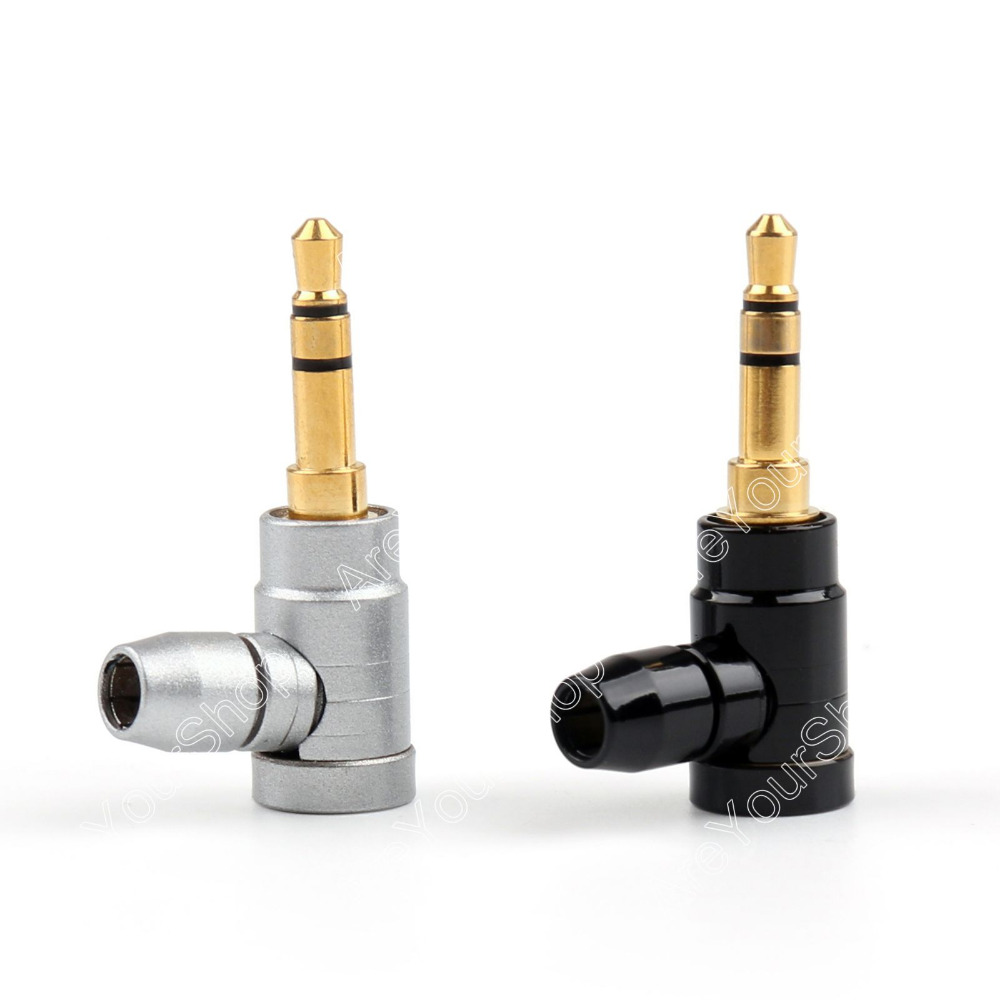 Areyourshop Copper 1/8 3.5mm Stereo Right Angle Audio Plug For Music Player Soldering 24PCS High Quality Connector areyourshop sale 20pcs high quality right angle l banana plug speaker cable connector screw type free solder mini plugjack